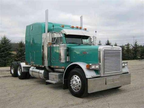 peterbilt 379 2001 sleeper semi trucks