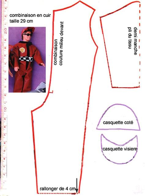 Mimin Jumpsuit 89 best images about ken doll clothes patterns on vests free pattern and dress