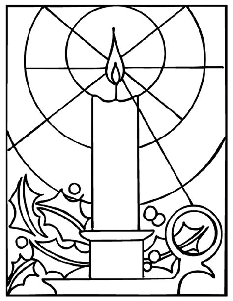 Christmas Candle Crayola Com Au Crayola Crayon Coloring Pages