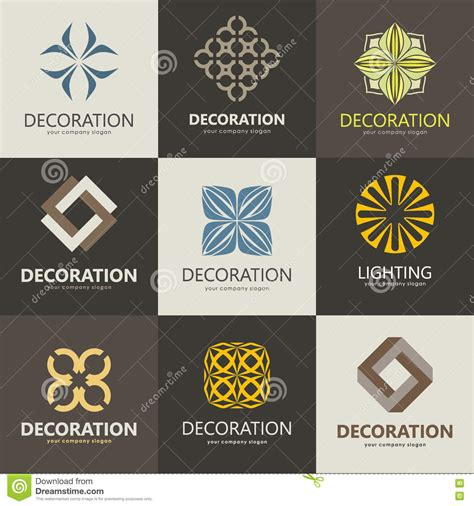 home decoration logo a collection of logos for interior furniture shops