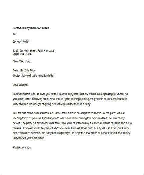 6 business luncheon invitation informal letter