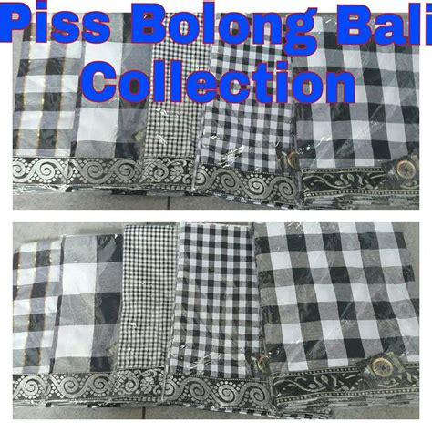 Udeng Poleng Bali Murah bolong bali collection jual udeng saput kain dan busana bali