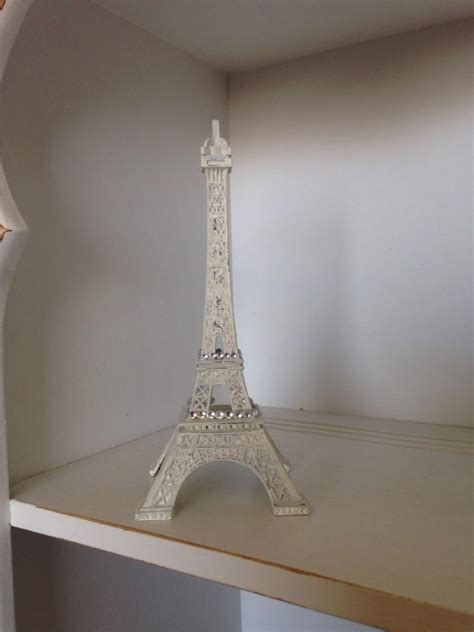 gray eiffel tower decoration decor wedding