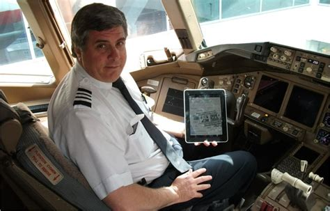a day in the of an airline pilot books ipads for american airlines pilots ready for take