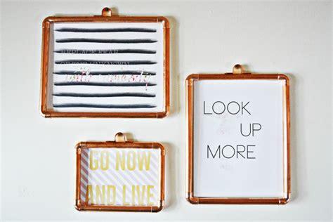 10 diy ideas for how to frame that basic bathroom mirror diy copper frames a joyful riot