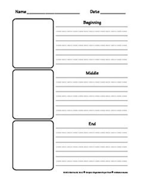 beginning middle end writing paper beginning middle end worksheets free worksheets library