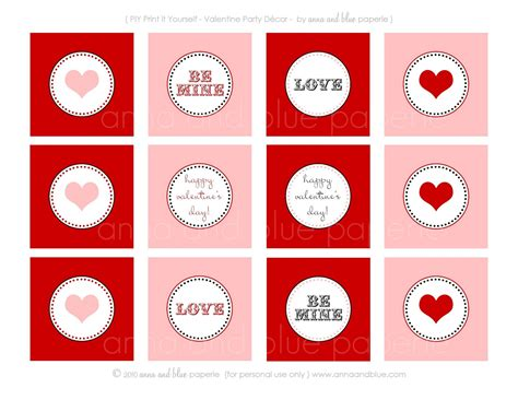 free printable valentine party decorations anna and blue paperie free printable i heart you
