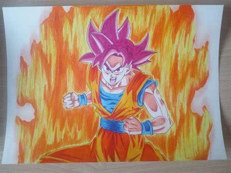 imagenes de goku graffitis dibujo goku ssj dios otaku zone 3djuegos