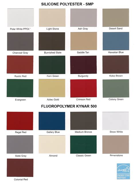 valspar color selector metal information quality metal building systems