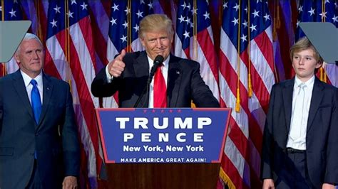 donald trump s unthinkable election donald trump s victory speech full text cnnpolitics
