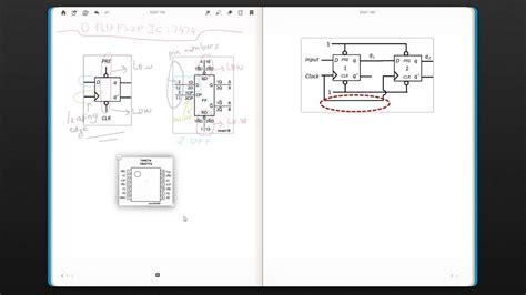 flip flop ic  egr  digital circuits week
