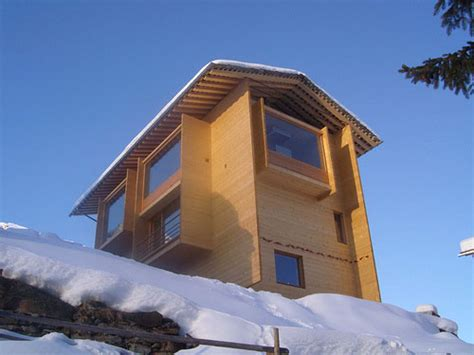 Small Modern Cabin by Leis House By Peter Zumthor Daily Icon