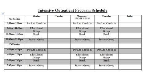 Inpatiet Detox Ct Medicaid by Outpatient Program Schedule And Meeting Lists