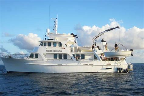 fishing boat accident gladstone charter fishing boat crewman missing in massive search