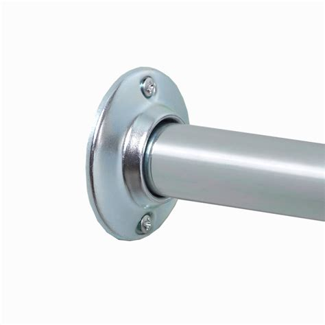 Shower Curtain Rod Mounting Brackets by Shower Curtain Rod Wall Brackets Scifihits