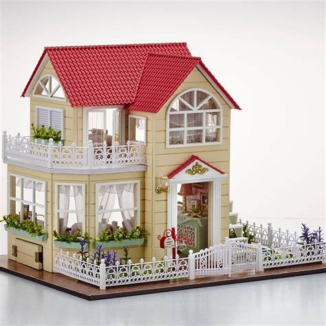 cheap wooden doll house online get cheap small wooden dollhouse aliexpress com alibaba group