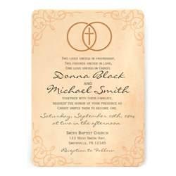 encircled cross religious wedding invitations 5 quot x 7 quot invitation card zazzle
