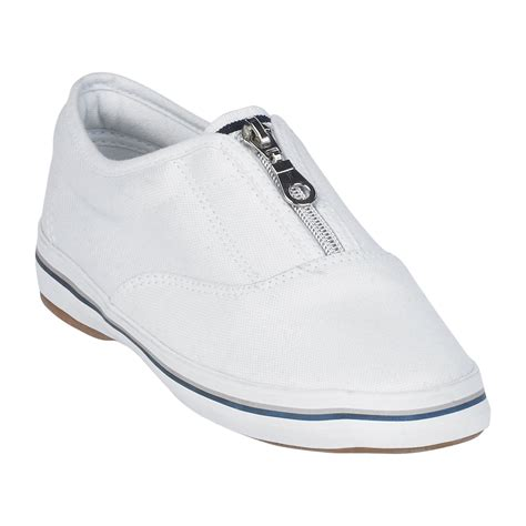 basic editions shoes basic editions s zipper canvas oxford white