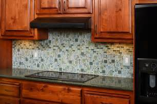 Glass Kitchen Tile Backsplash by Unique Kitchen Backsplash Ideas House Experience