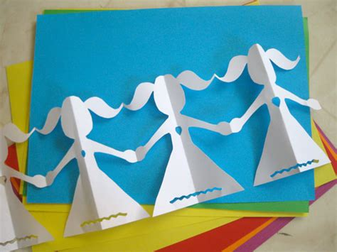 How To Make Paper Doll Chains - episodia 1 11 character differentiation