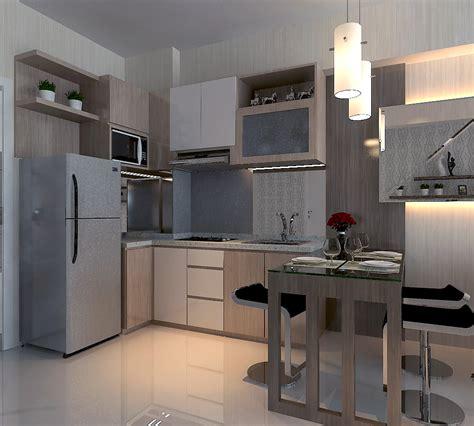 kitchen settings design design interior kitchen set apartment surabaya by