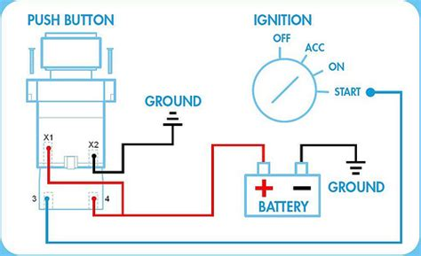 starter switch wiring diagram wiring diagram with