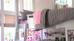Sleep And Study Loft Bed Loft Bed Ideas For Small Rooms Pbteen Youtube
