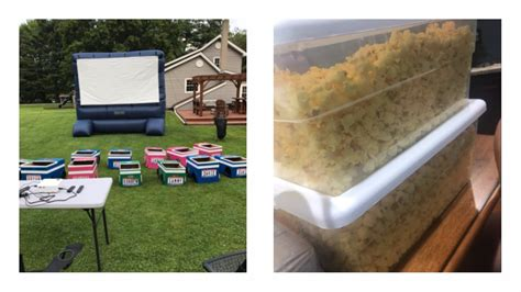 backyard drive in grandma creates backyard drive in movie theater wins summer