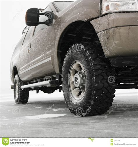 Truck Accessories In Big Lake Mn Truck On Frozen Lake Royalty Free Stock Image Image