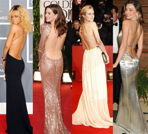 hollywood gorgeous celebrities 10 hollywood actress bare back backless dress hot