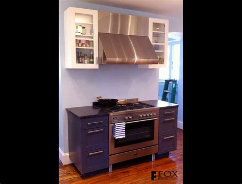 fox woodworking painted range cabinets fox woodworking