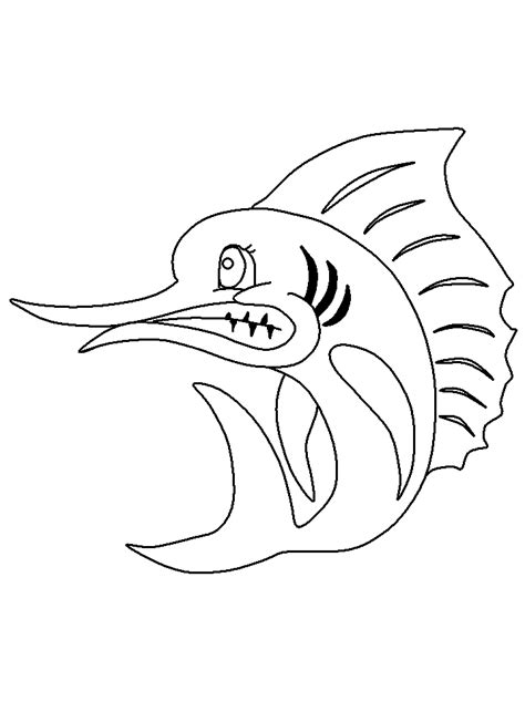 Dltk Fish Coloring Pages | fish coloring pages