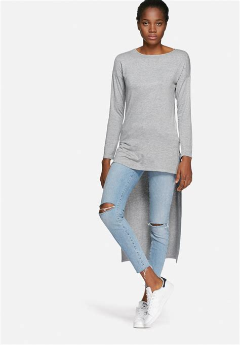 T Shirt Low And high low top grey dailyfriday t shirts superbalist