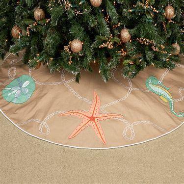 beach themed tree skirt themed tree skirt for