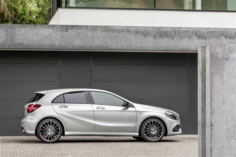 mercedes classic 2016 2016 mercedes a class facelift debuts with new 1 6 engine