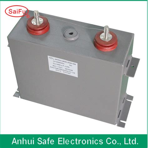 filled high voltage capacitor 3000uf filled capacitor applied to high voltage equipments products from china mainland