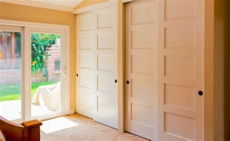 Bypass Wood Closet Doors Brocktonplace Page 33 Contemporary Interior With