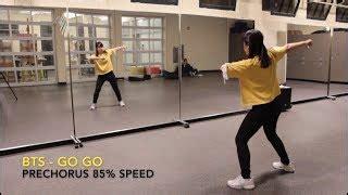 tutorial dance go go bts корейский танец уроки танцев