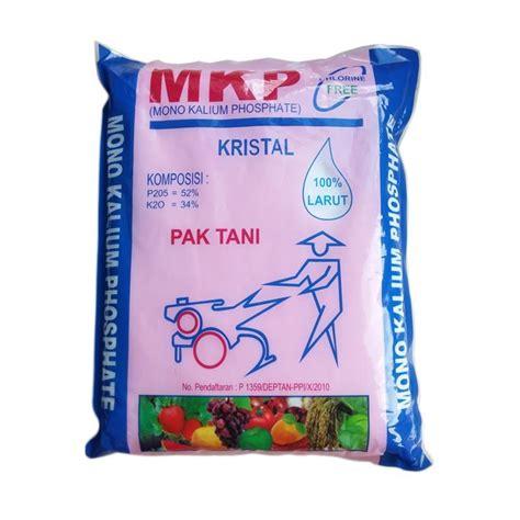 Harga Pupuk Mkp Untuk Cabe jual mkp pak tani pupuk bunga dan buah 1 kg
