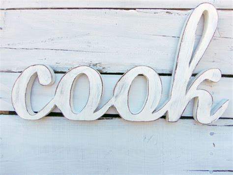 wooden words home decor wooden word art for kitchen afreakatheart