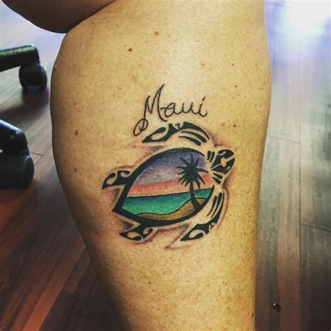 maui tattoo david coronado artist at blue hawaii