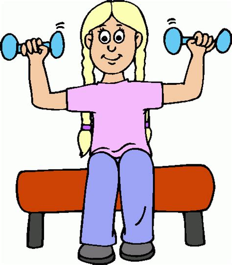 exercise clipart pictures of exercising cliparts co