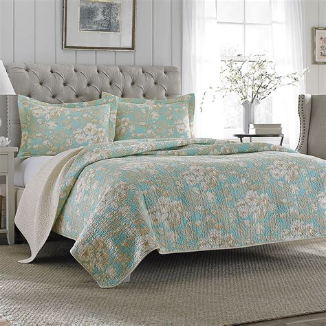 laura ashley brompton quilt set  beddingstylecom