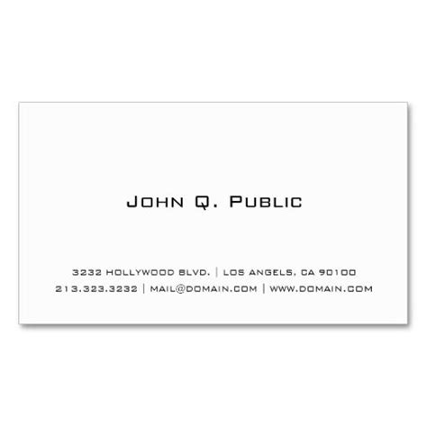 template for business cards plain 17 best images about plain minimalist business cards on