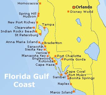 Florida Gulf Map by Florida Gulf Of Mexico Map