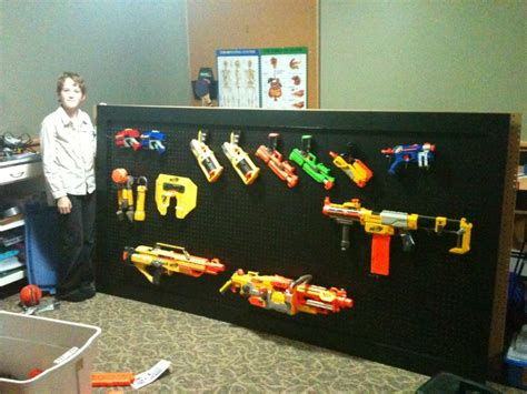 How To Build A Nerf Gun Rack by Nerf Gun Rack Organization Is Everything