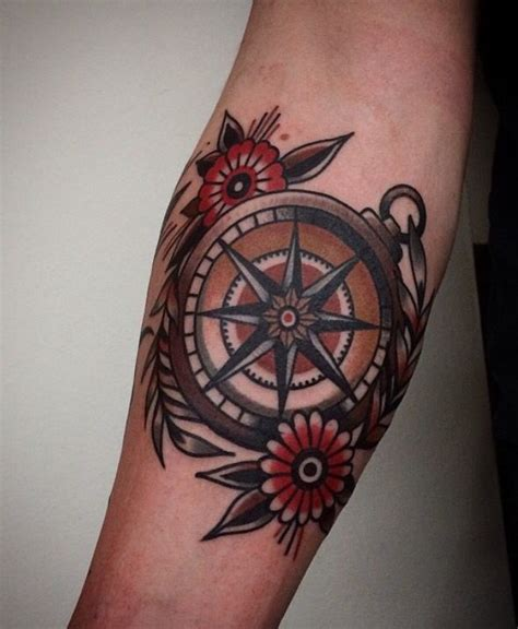 compass navy tattoo 25 best ideas about traditional compass tattoo on