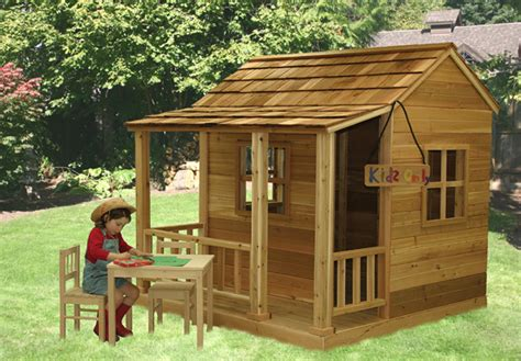 wooden playhouses outdoor playhouse