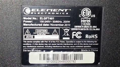 element electronics  walmart tv problems youtube