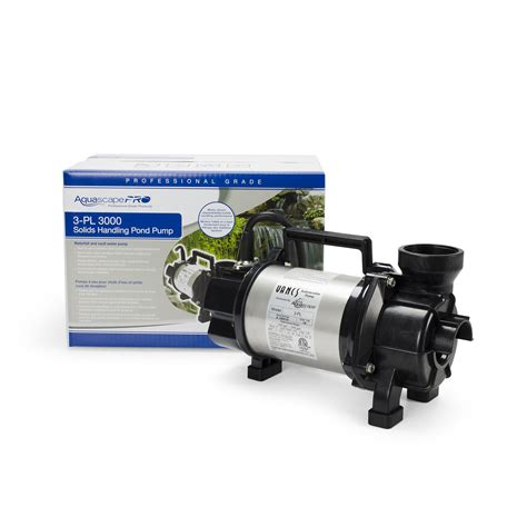 aquascape design pumps aquascape aquaforce 174 4000 8000 adjustable flow solids